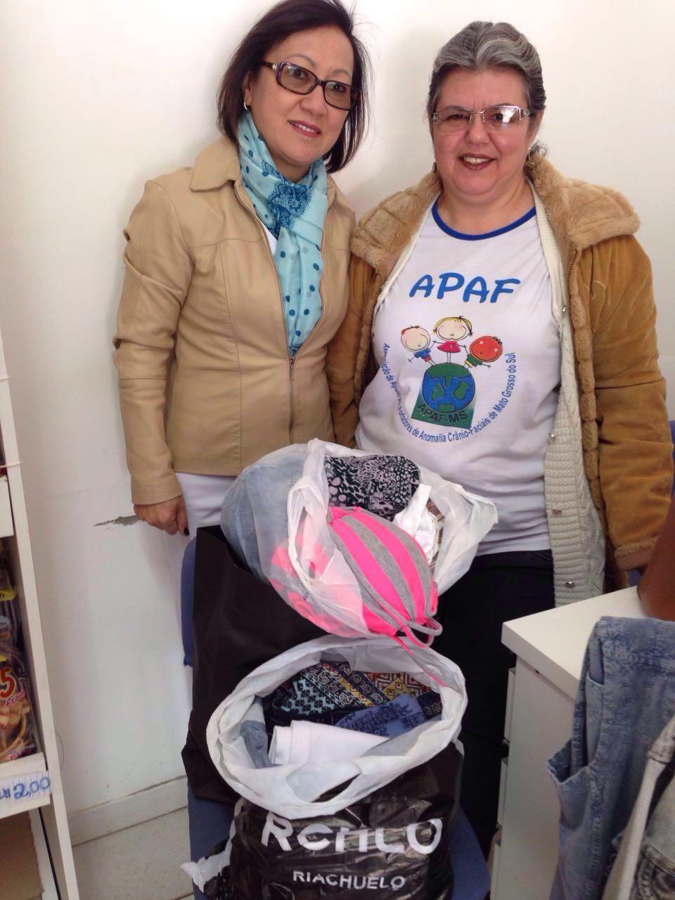ABO-MS realiza doações de agasalhos