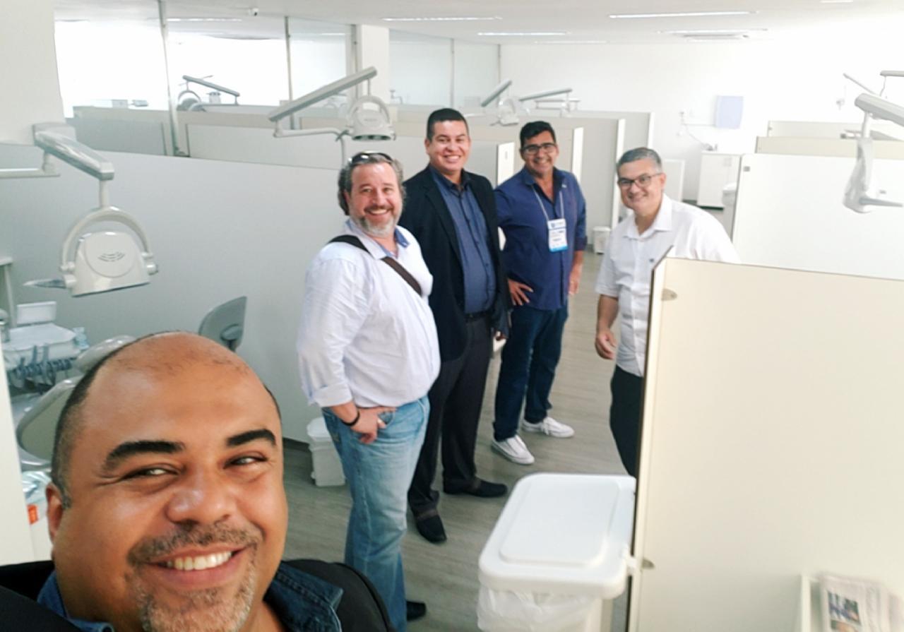 ABO-MS visita nova sede da ABO-SP