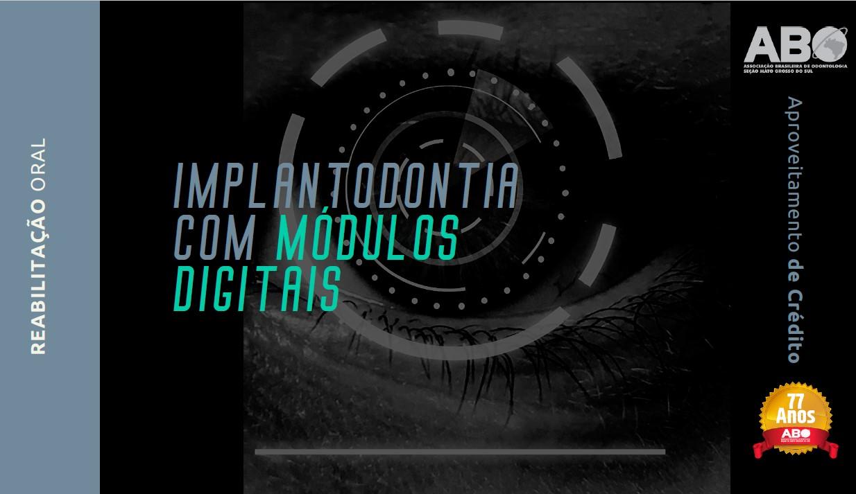 """Inscrições abertas para especialização em """"Implantodontia com Módulos Digitais"""""""