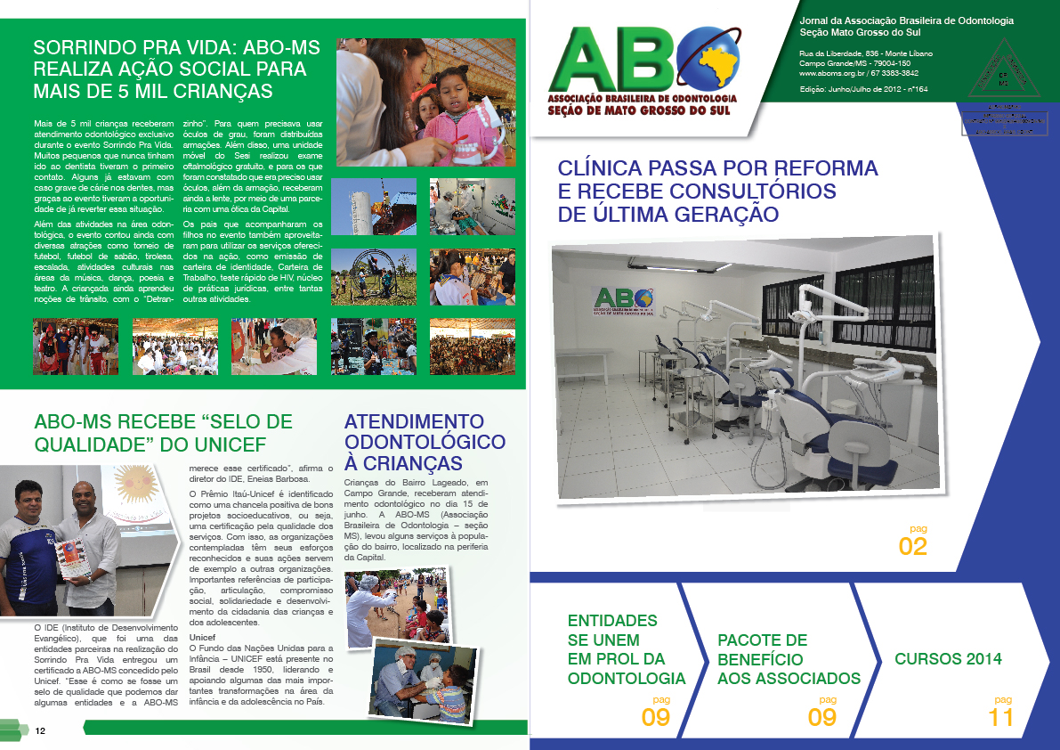 Confira a versão digital do Jornal da ABO-MS