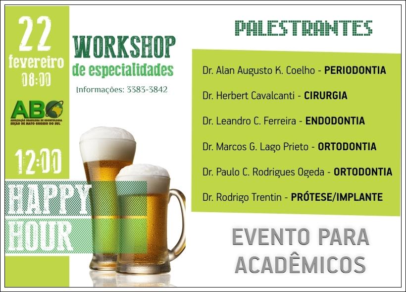 ABO-MS realiza Workshop para acadêmicos