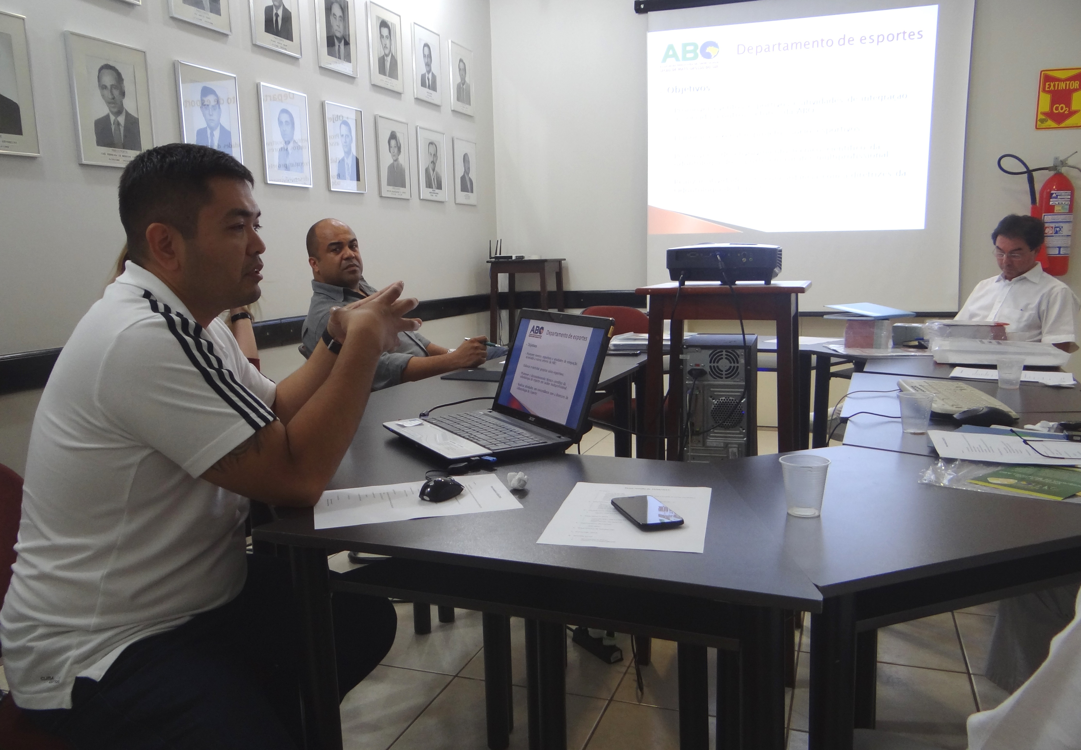 Departamento de Esportes da ABO-MS planeja atividades para 2014