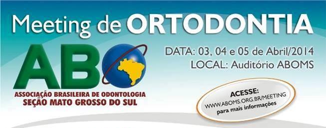Últimas vagas: Meeting de Ortodontia começa nesta quinta-feira