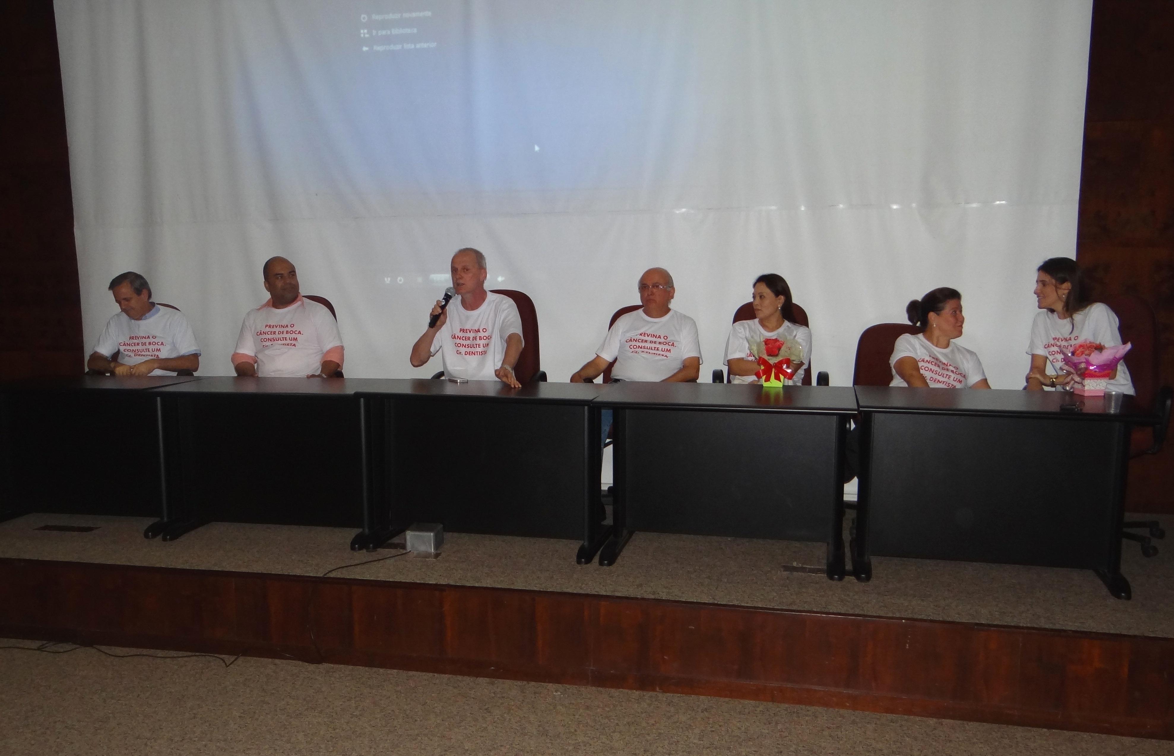 ABO-MS participa da Semana de Prevenção ao Câncer de Boca