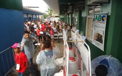 ABO-MS participa da Caravana da Saúde em Coxim