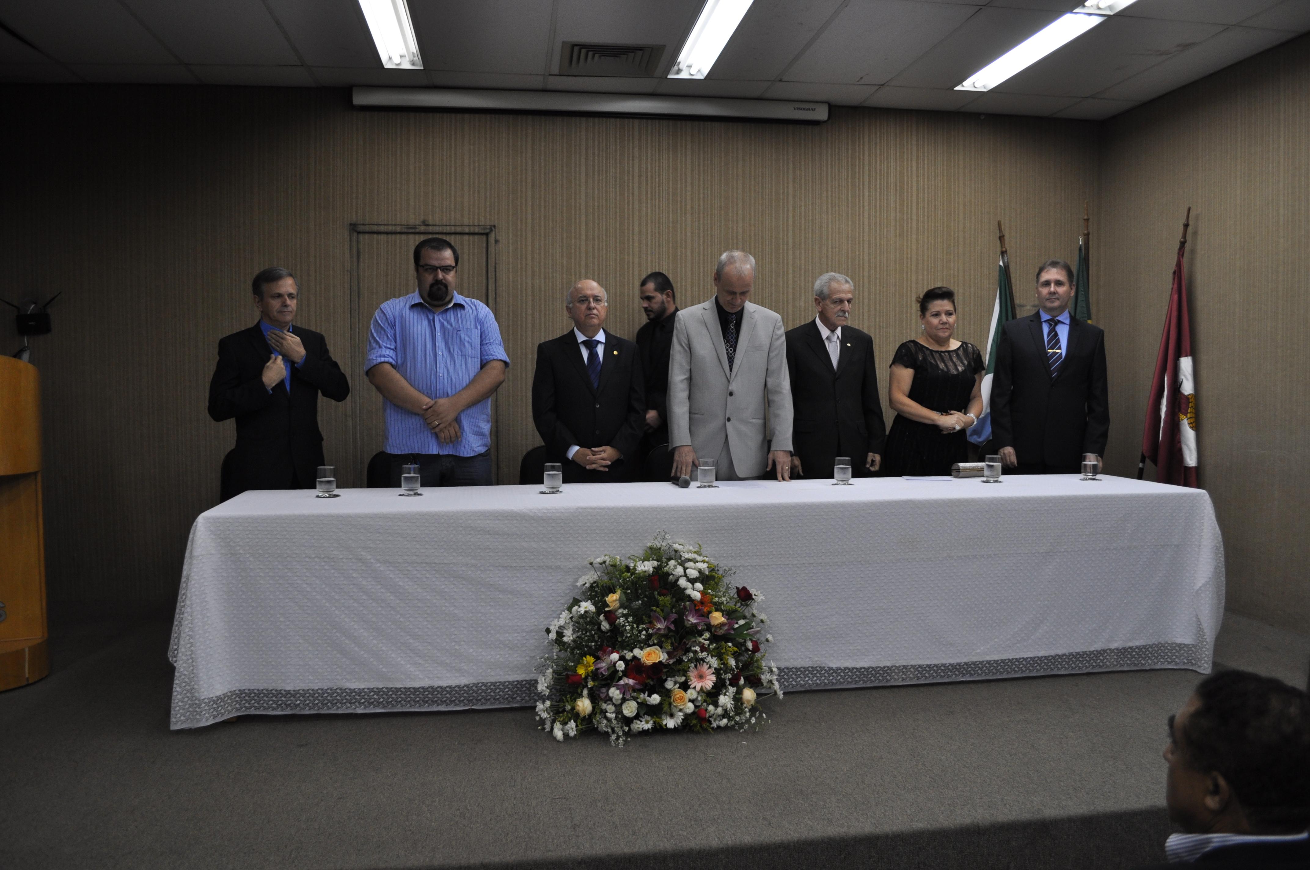 ABO-MS participa de posse da diretoria do CRO-MS