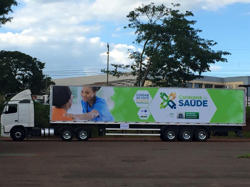 ABO-MS fará parte da Caravana da Saúde