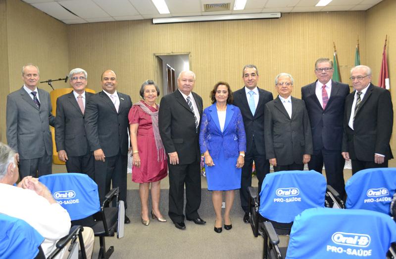 Presidente da ABO-MS marca presença em entrega de Inscrição Remida do CRO-MS