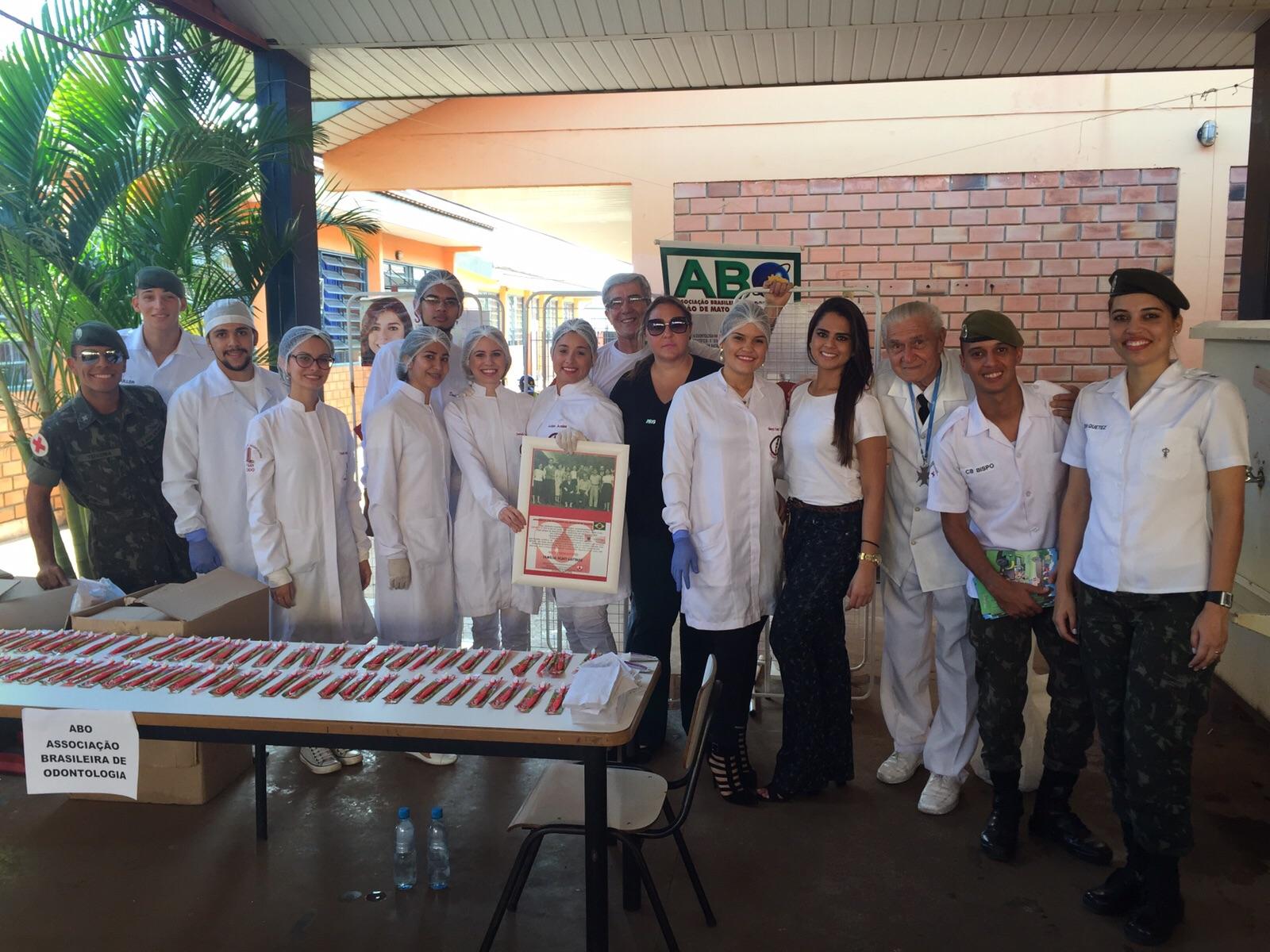 Ação Social: ABO-MS esteve presente no bairro Nova Campo Grande