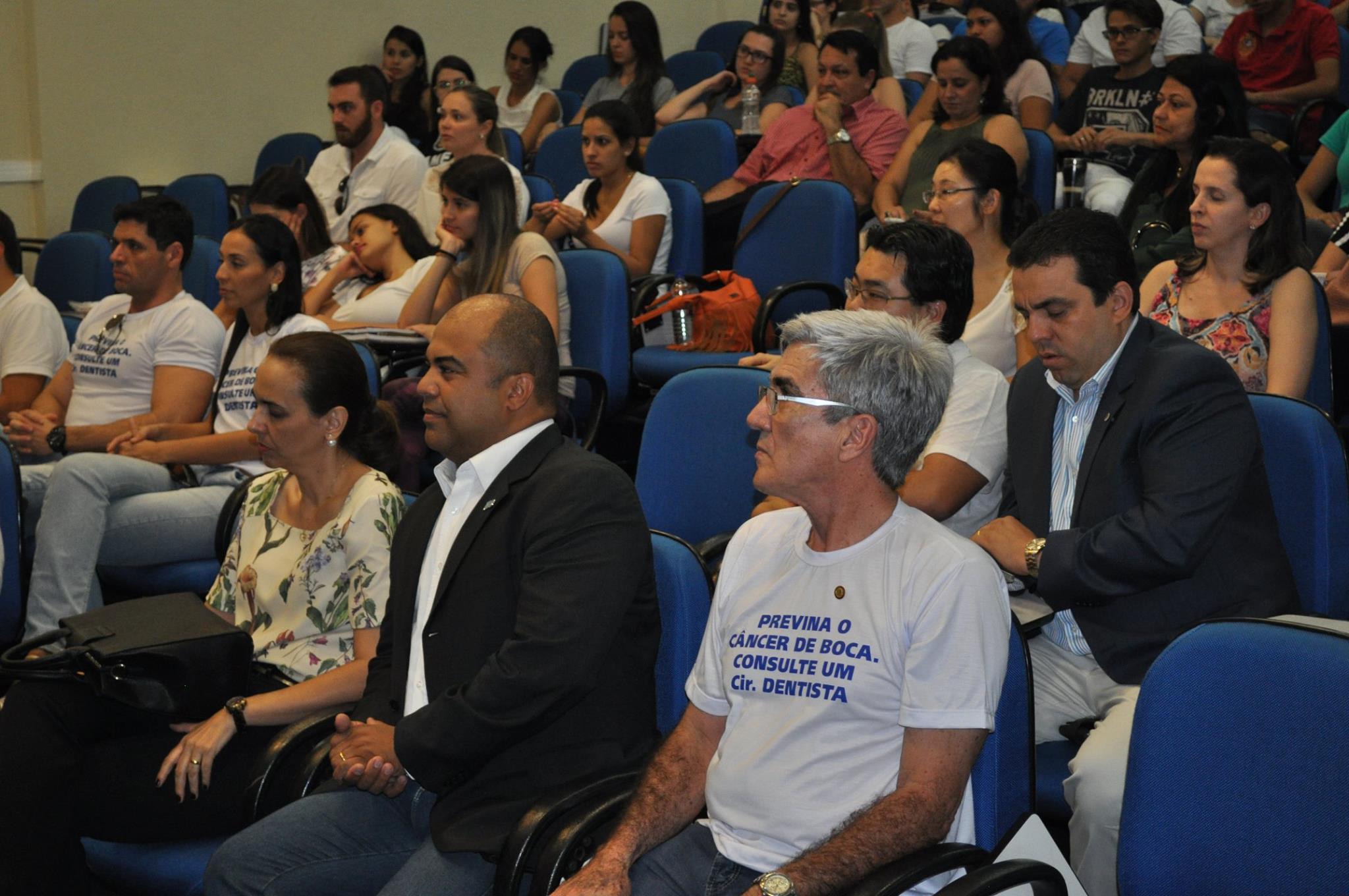 Presidente da ABO-MS marca presença na abertura da Semana de prevenção ao câncer de boca