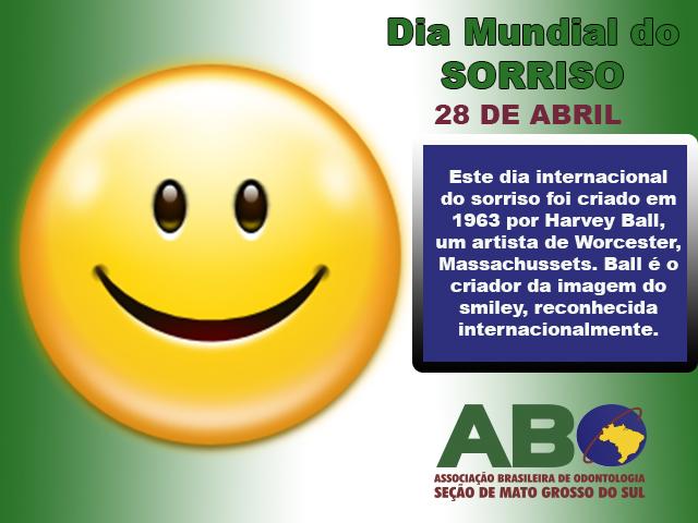 Dia Mundial do Sorriso – 28 de Abril