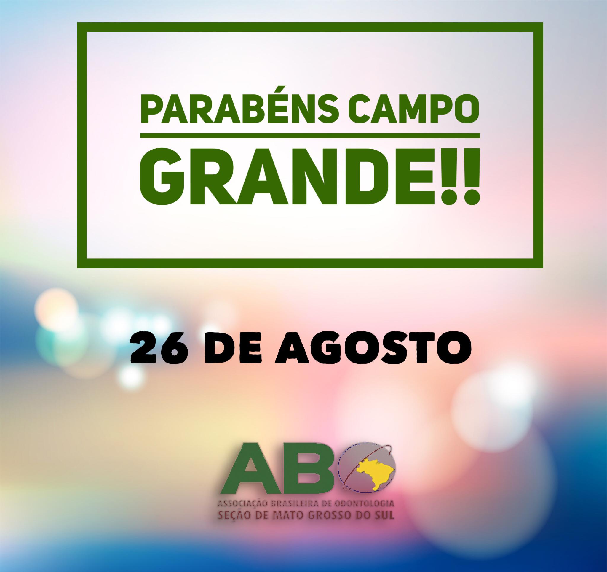 Aniversário de Campo Grande