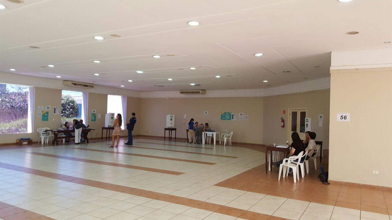 ABO-MS abriga quatro seções eleitorais