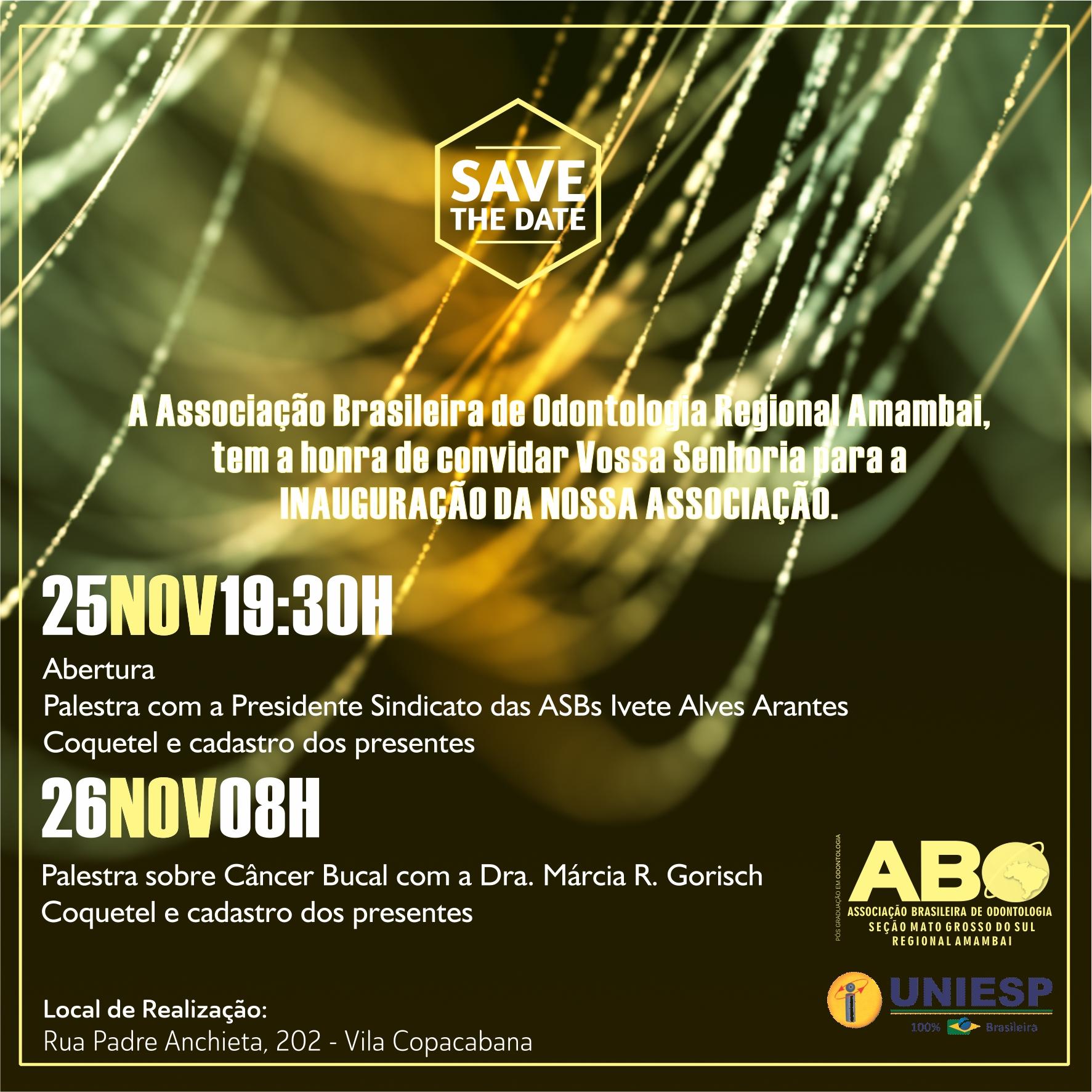 ABO-Amambai realiza evento de lançamento da entidade