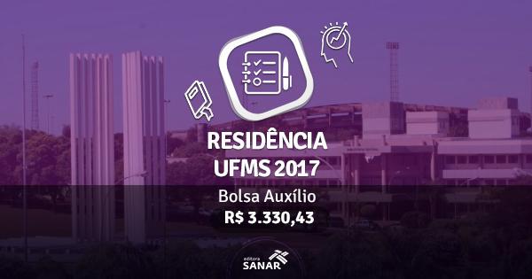Residência UFMS 2017: publicado edital com vagas para cirurgiões-dentistas