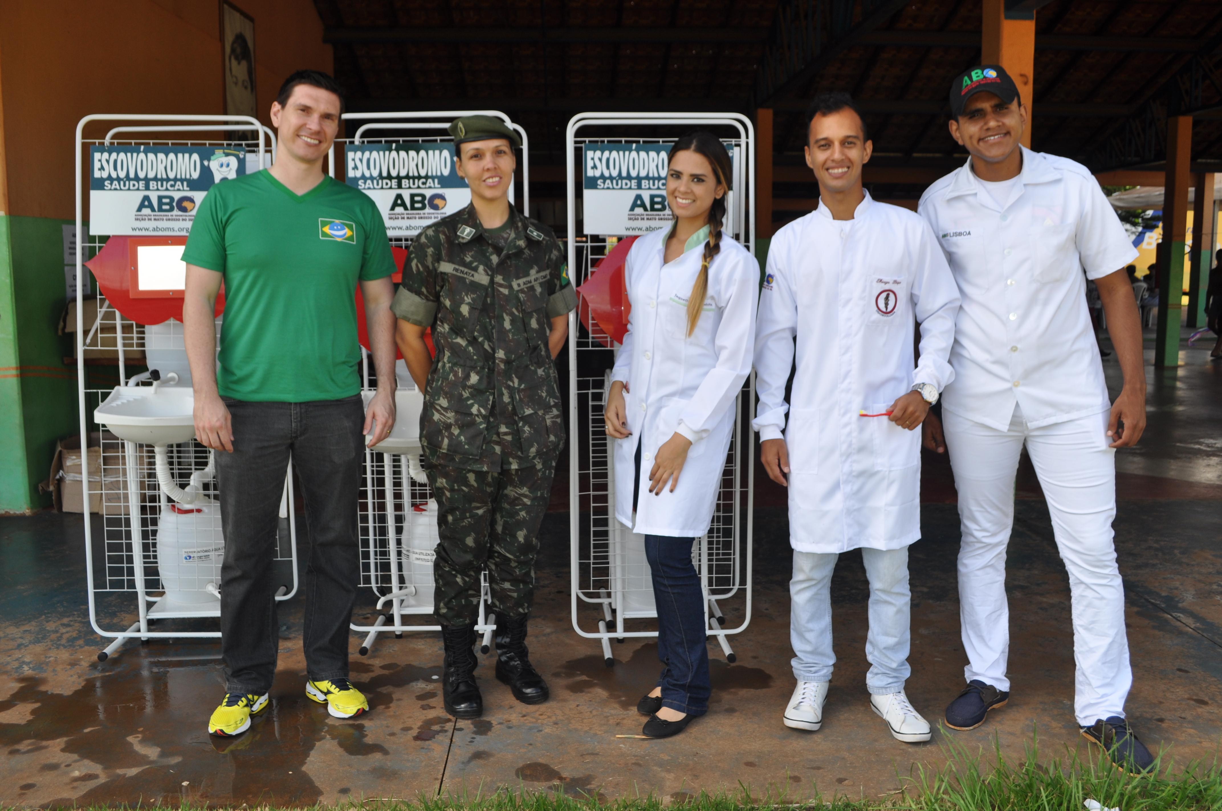ABO-MS participa de ação comunitária no Taquaral Bosque