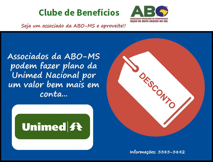 Associados à ABO-MS têm quase 50% de desconto em plano da Unimed