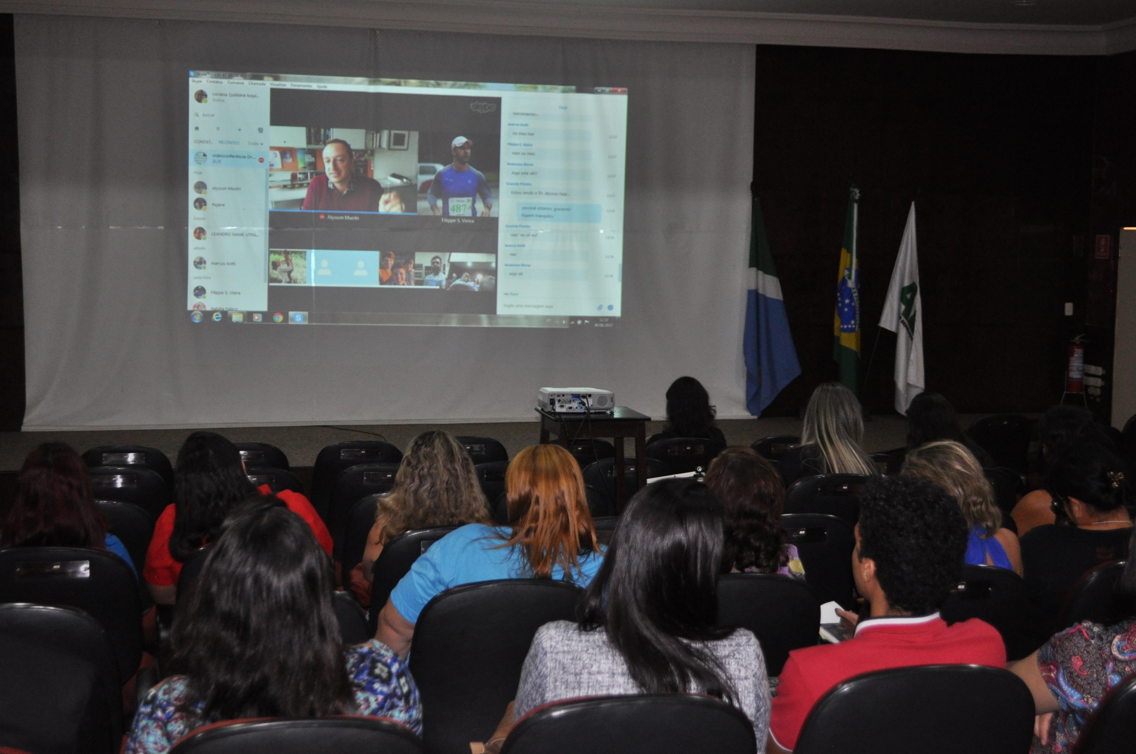 Videoconferência sobre autismo é realizada na ABO-MS