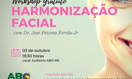 """Workshop Gratuito de """"Harmonização Facial"""" com Prof. Doutor José Peixoto Ferrão Jr"""