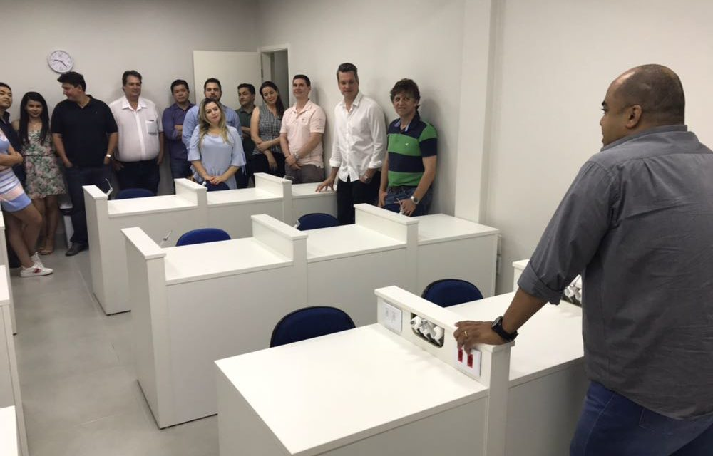 Novo laboratório de prótese da ABO-MS é inaugurado