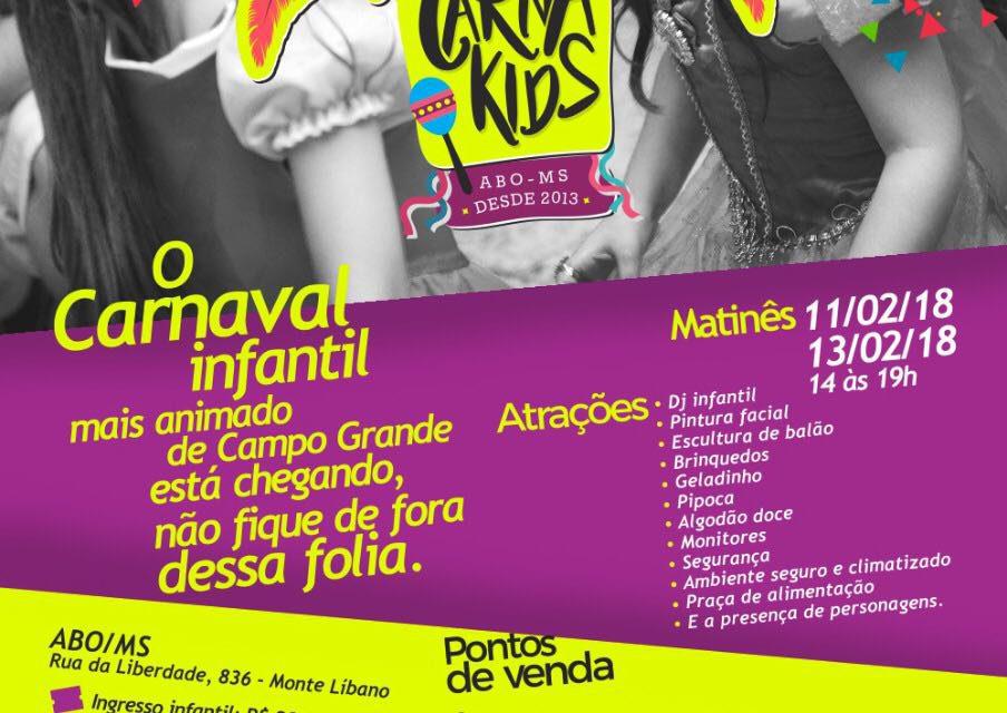 ABO-MS recebe tradicional carnaval infantil