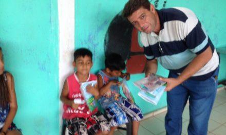 ABO-MS distribui kits de escovação em Ladário