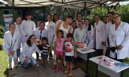 Ação em parceria com a Associação Sul-Matogrossense de Odontopediatria