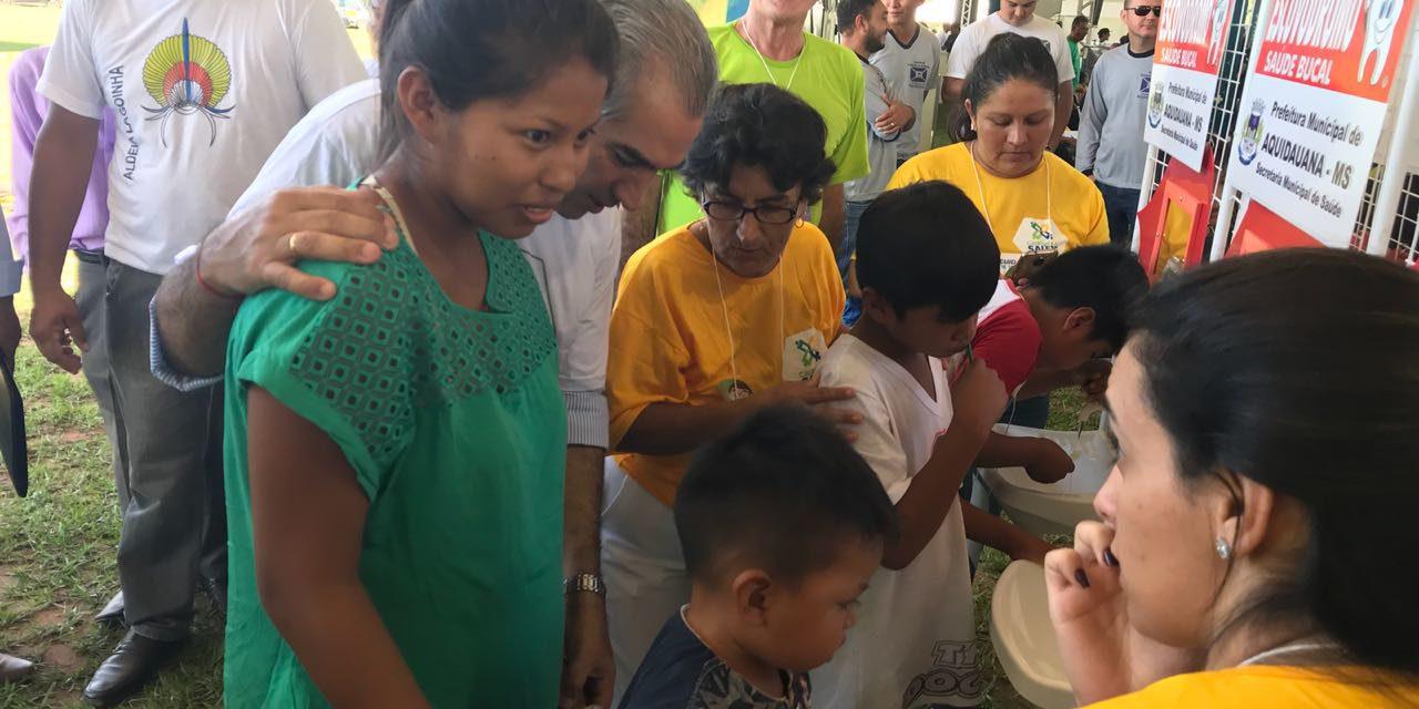 ABO-MS participa de Caravana Indígena