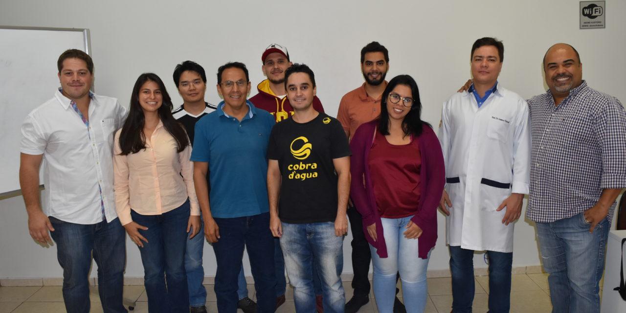 Presidente da ABO-MS visita curso de Implantodontia