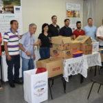 ABO-MS participa de entrega de alimentos a entidades da Capital