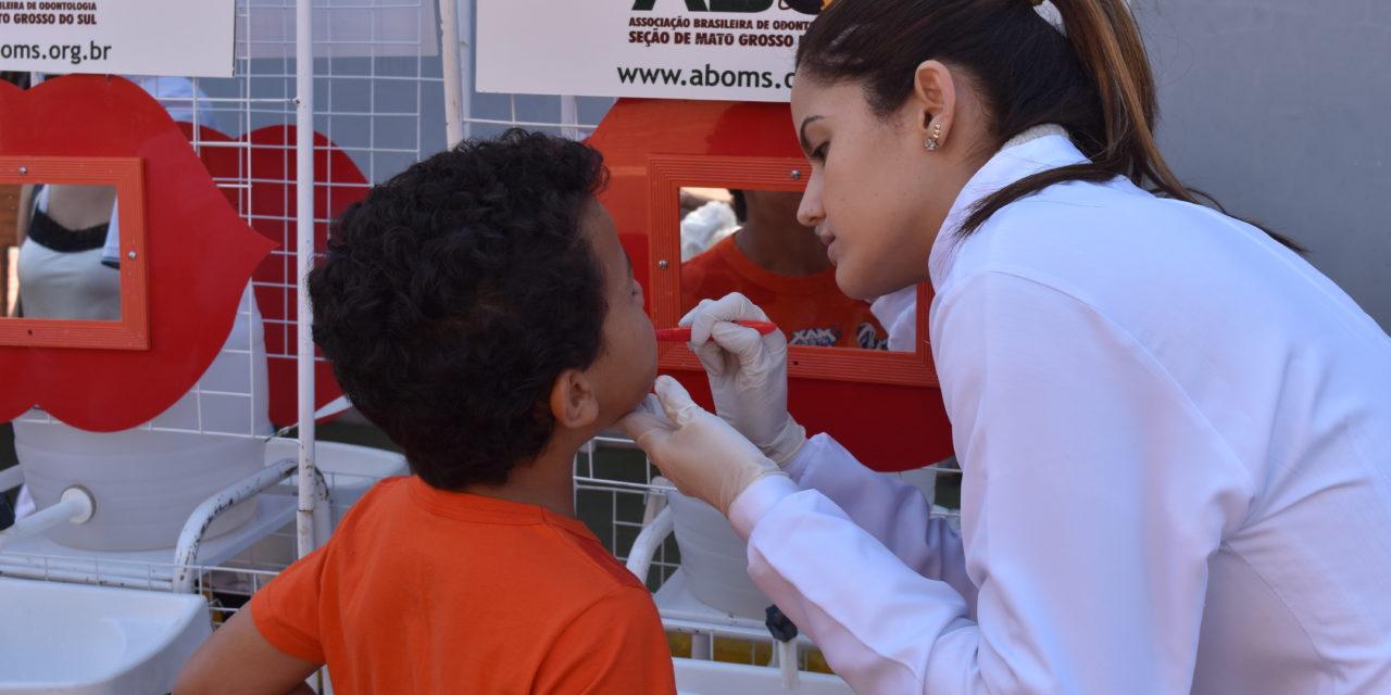 ABO-MS e CRO-MS participam de ação social no Pólo Empresarial Norte