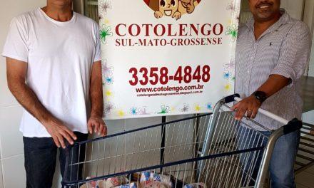 ABO-MS realiza doações para o Cotolengo