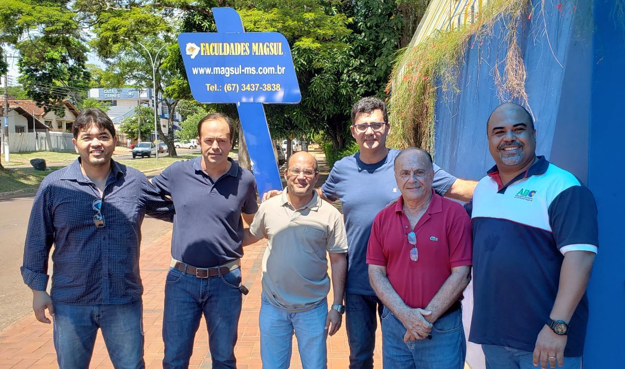 Diretoria da ABO-MS visita faculdade em Ponta Porã para futura realização de cursos