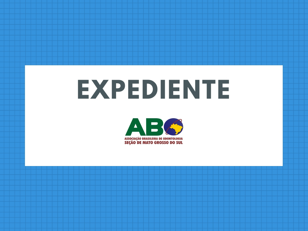 Secretaria da ABO-MS não terá expediente sexta-feira e sábado