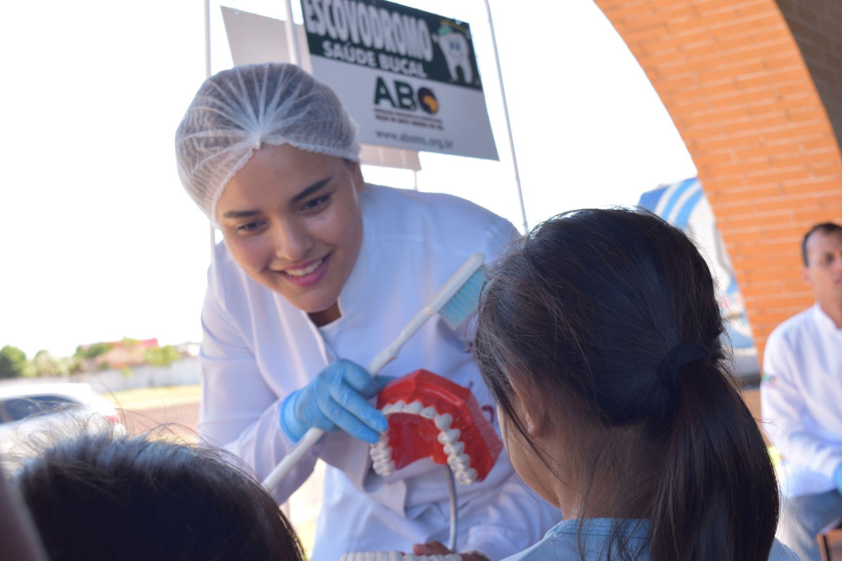 ABO-MS participa de ação social na Moreninha