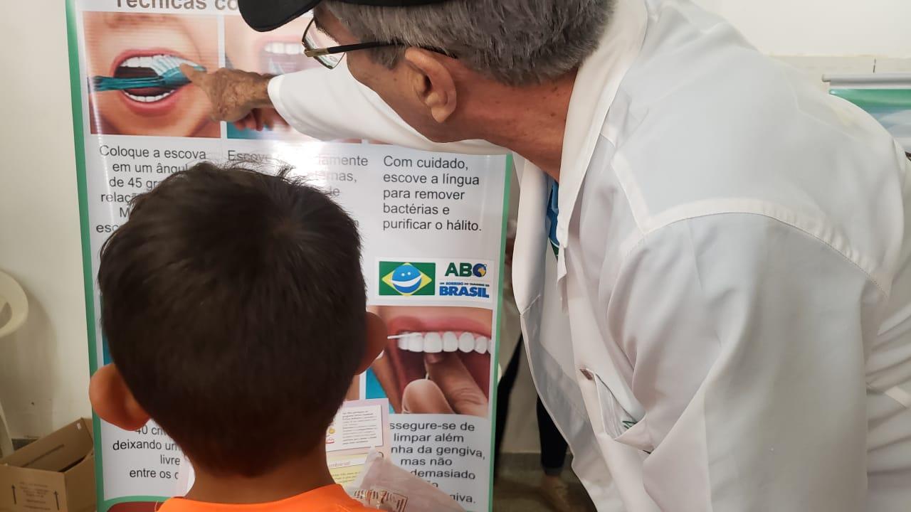 ABO-MS participa de ações sociais