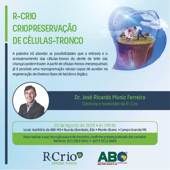 Campo Grande receberá palestra sobre células-troncos a partir dos dentes de leite