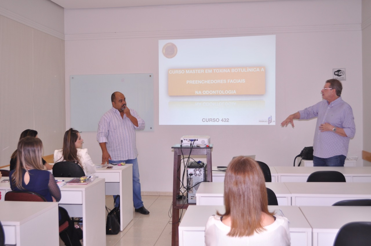 Início curso Master em Toxína Butolínica Estético Funcional e Preenchimentos Oromandibulares